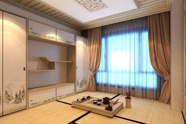日式窗帘的搭配方式
