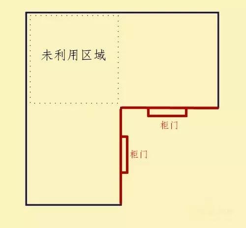 小户型厨房不容忽略的位置,转角橱柜做起来