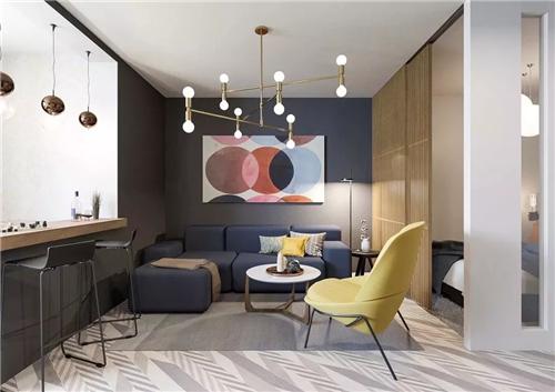 扔掉电视,未来客厅设计新趋势
