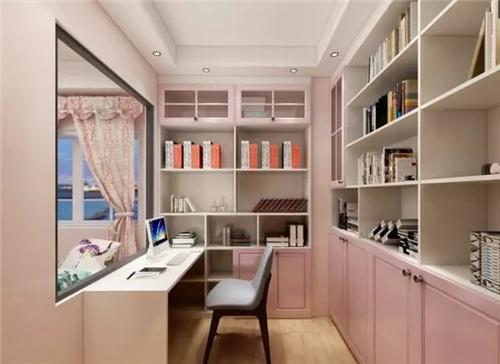 同样是书橱+书桌,有这七套设计案例做参考