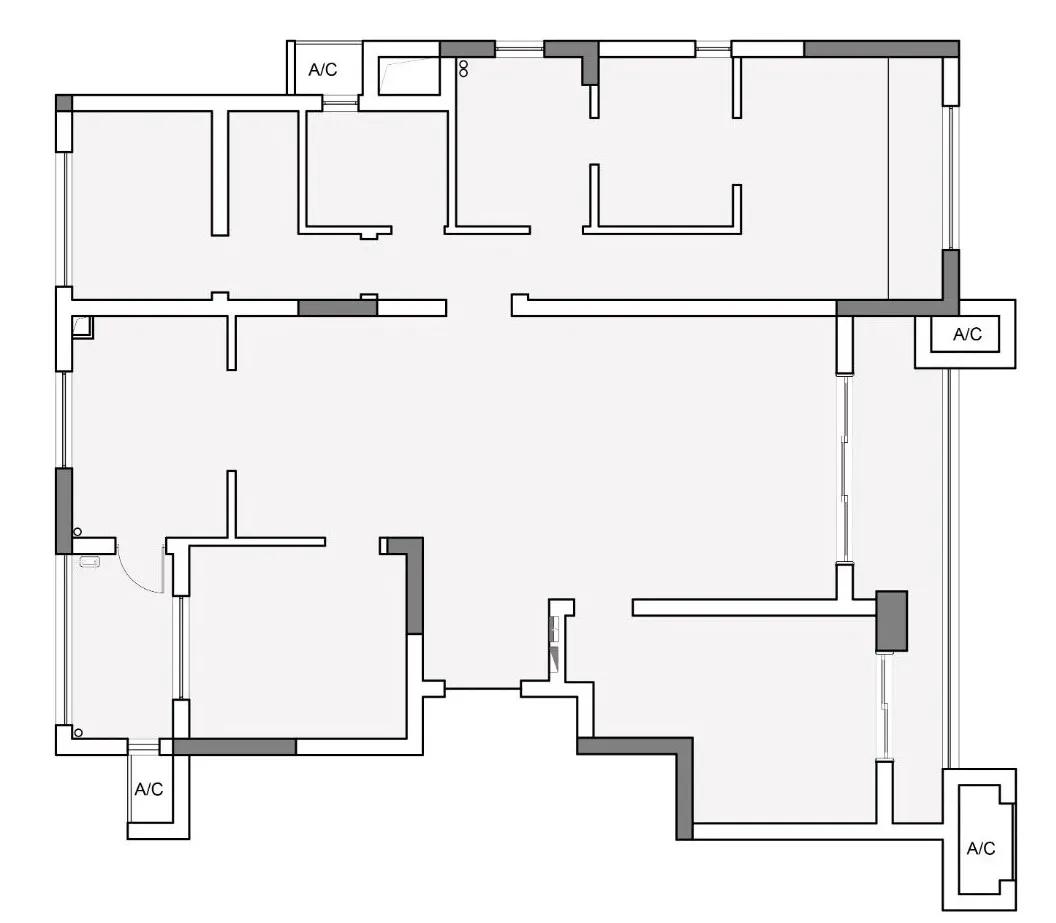 十二分定制打造   120m²隐藏式设计 · 愈简约愈纯粹的居住空间